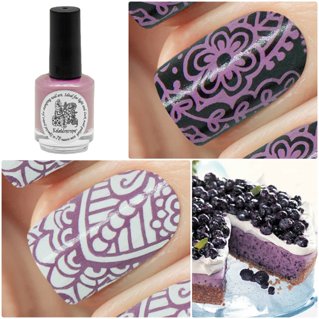 краска для стемпинга, Special paint for stamping nail art №st-78 mauve mist