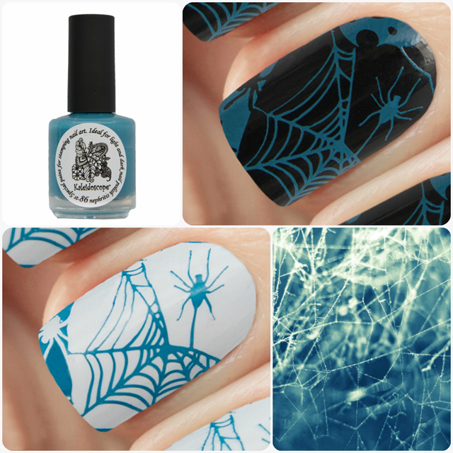 краска для стемпинга, Kaleidoscope EL Corazon Special paint for stamping nail art №st-86 nephritis