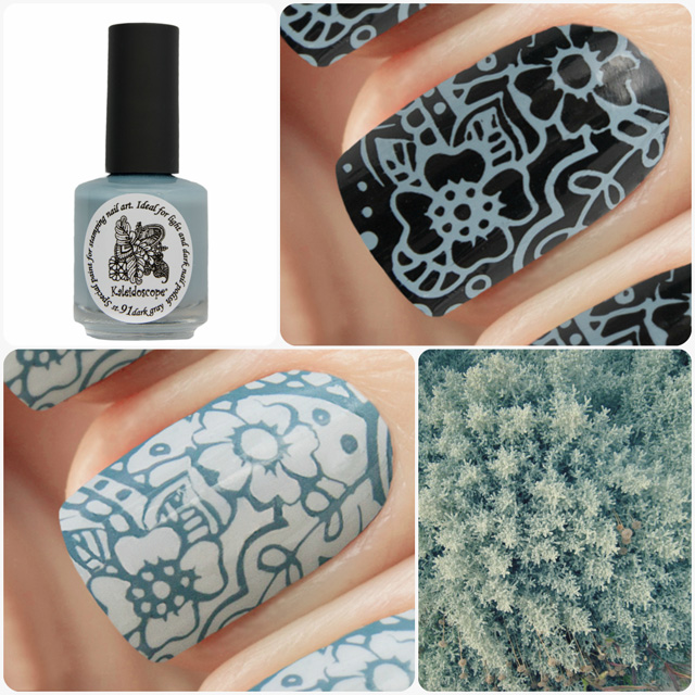 краска для стемпинга, Special paint for stamping nail art №st-91 dark grey