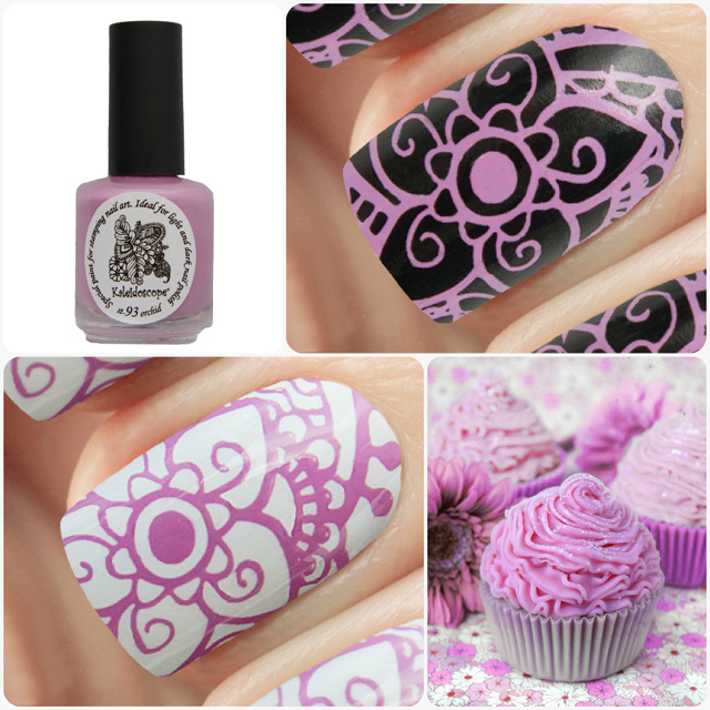 краска для стемпинга, Special paint for stamping nail art №st-93 orchid