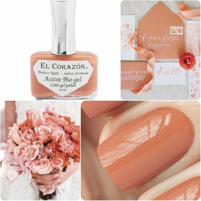 EL Corazon Active Bio-gel Color gel polish Cream №423/298