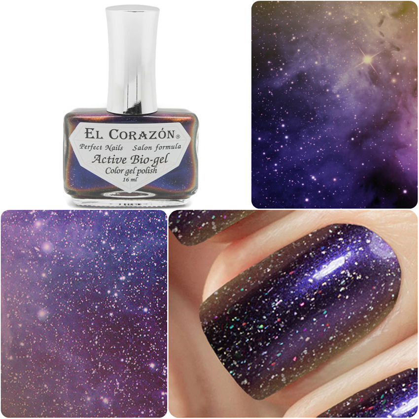 EL Corazon Active Bio-gel Color gel polish Universe 423/763 The Pleiades
