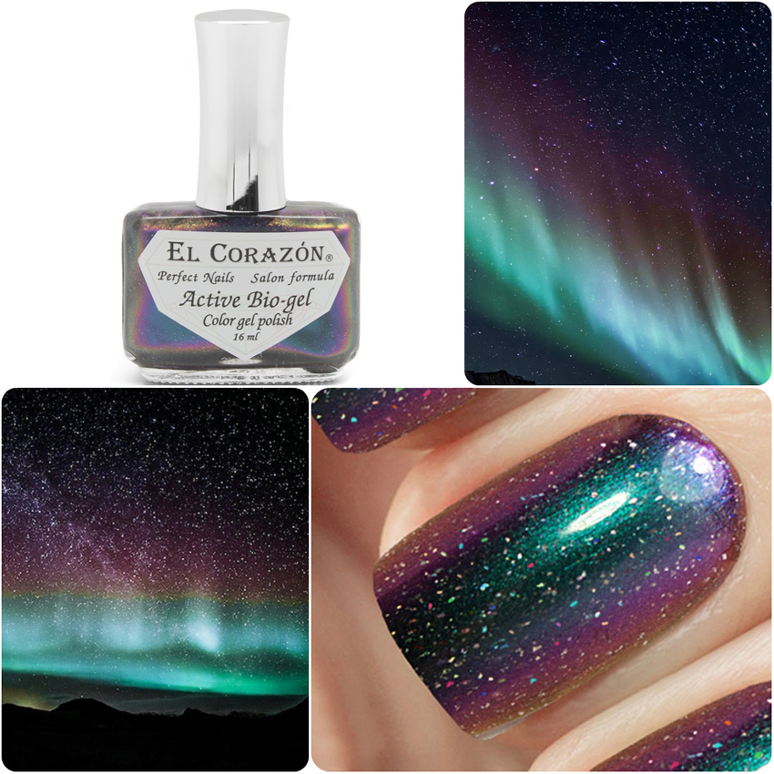 EL Corazon Active Bio-gel Color gel polish Universe 423/764 Sleeping beauty