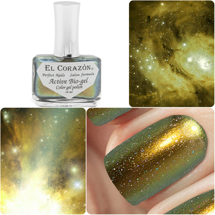 EL Corazon Active Bio-gel Color gel polish Universe 423/766 Omega Centauri