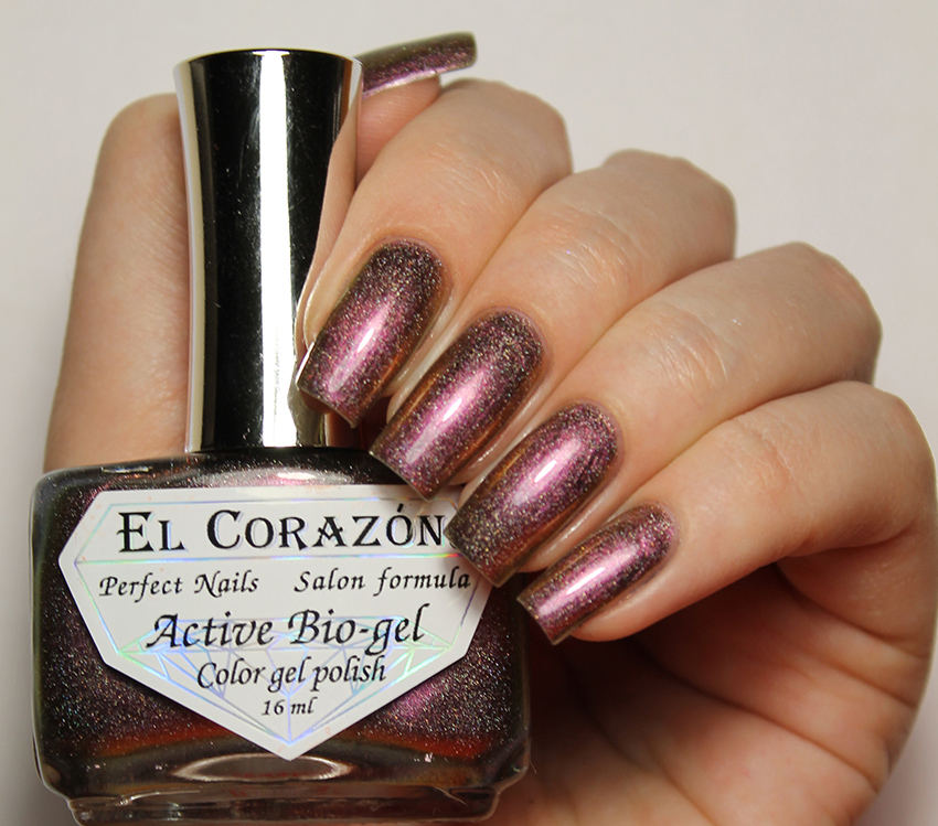 EL Corazon Active Bio-gel Color gel polish Live is Live: fate