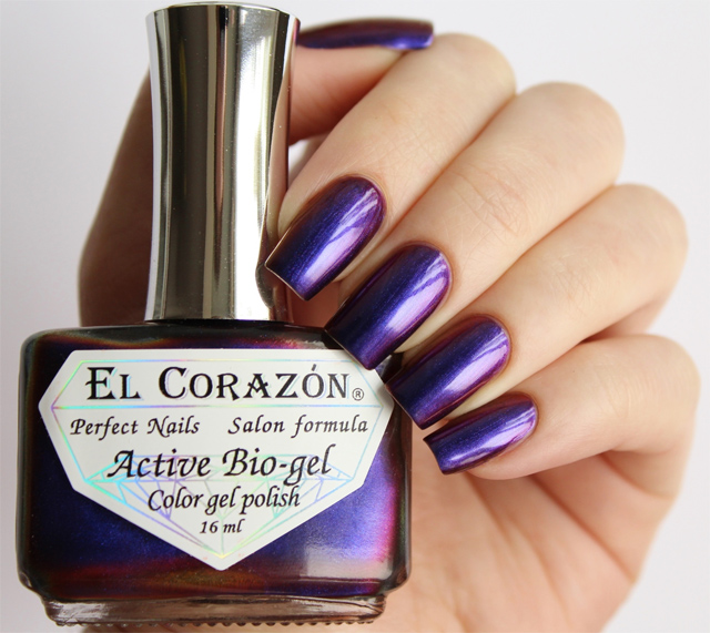EL Corazon Active Bio-gel Color gel polish 423/724 Polishaholic: nail polish sphere
