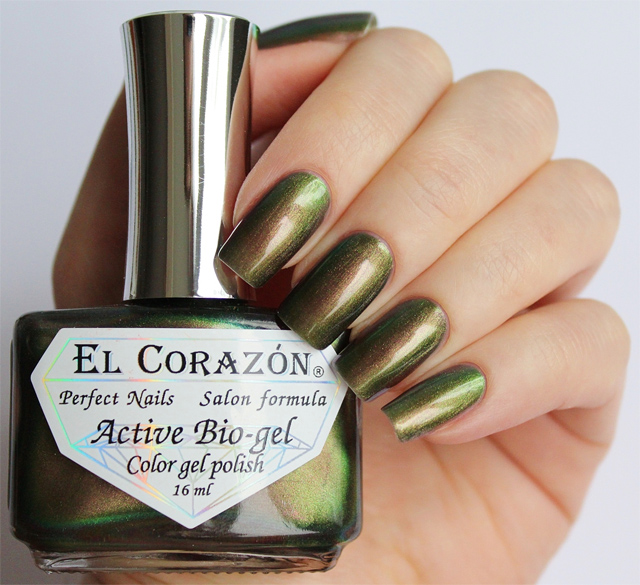 EL Corazon Active Bio-gel Color gel polish 423/725 Polishaholic: nail polish mania