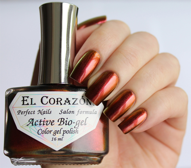 EL Corazon Active Bio-gel Color gel polish 423/726 Polishaholic: nail polish world
