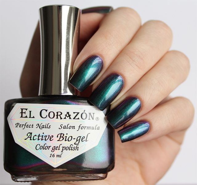 EL Corazon Active Bio-gel Color gel polish 423/727 Polishaholic: EL Corazon-mania