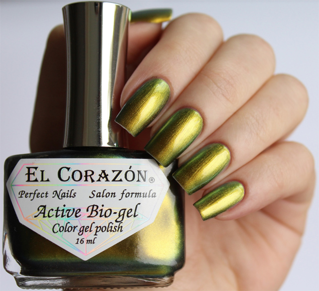 EL Corazon Active Bio-gel Color gel polish  423/722 Polishaholic: nailpolishaholic