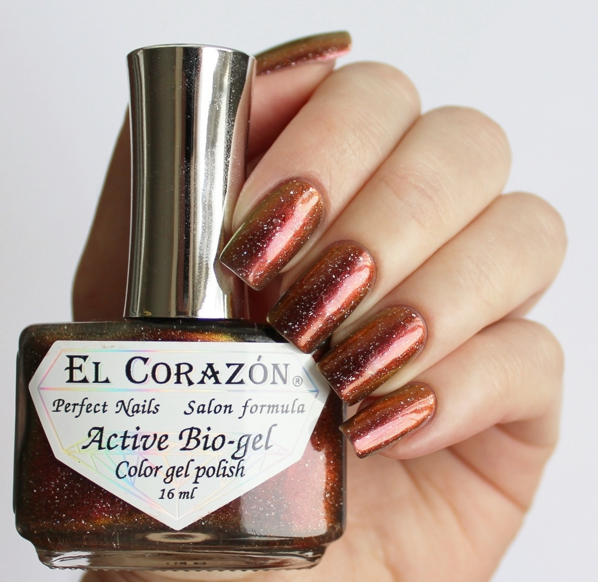 EL Corazon Active Bio-gel Color gel polish Universe 423/762 Virgo Stellar Stream