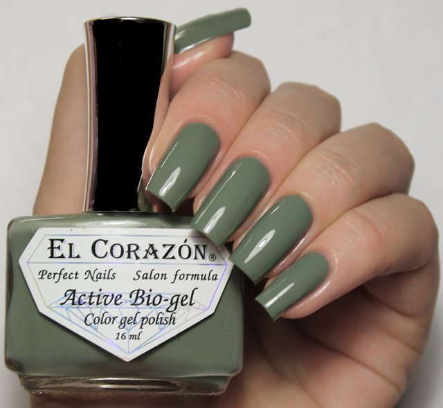 EL Corazon Active Bio-gel Color gel polish Cream №423/295