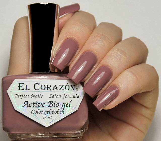 EL Corazon Active Bio-gel Color gel polish Cream №423/305