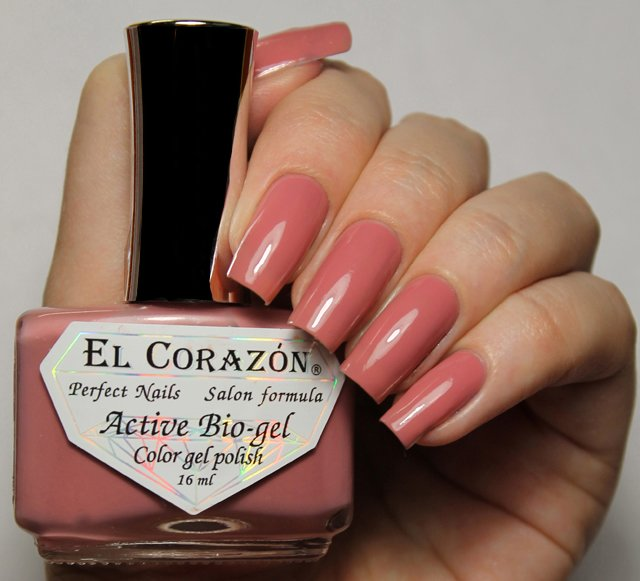 EL Corazon Active Bio-gel Color gel polish Cream №423/306