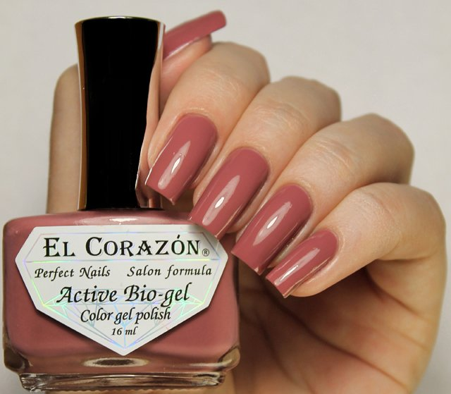 EL Corazon Active Bio-gel Color gel polish Cream №423/308