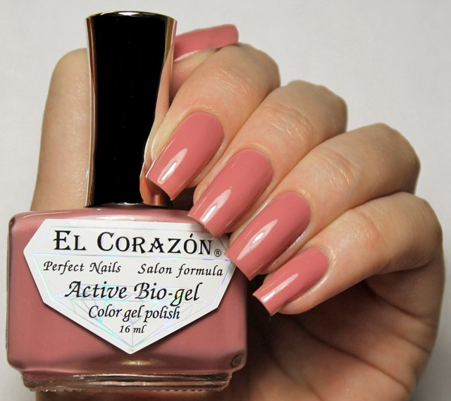 EL Corazon Active Bio-gel Color gel polish Cream №423/311