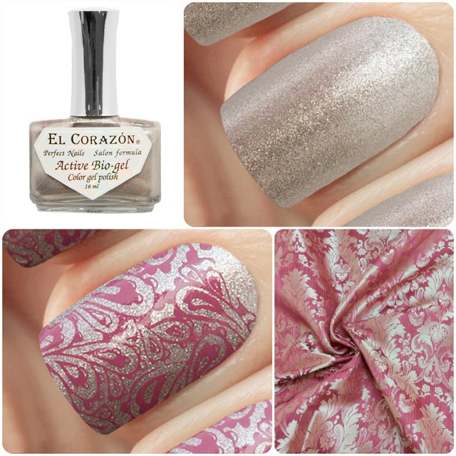 EL Corazon Active Bio-gel Color gel polish French Jacquard 423/902
