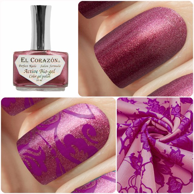 EL Corazon Active Bio-gel Color gel polish French Jacquard 423/905