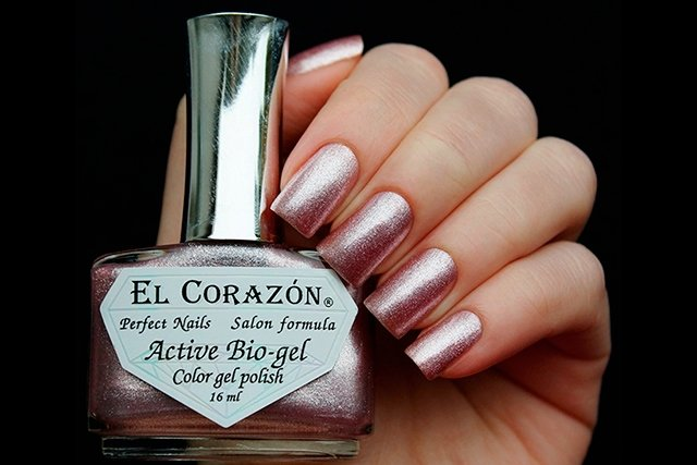 EL Corazon Active Bio-gel Color gel polish French Jacquard 423/904