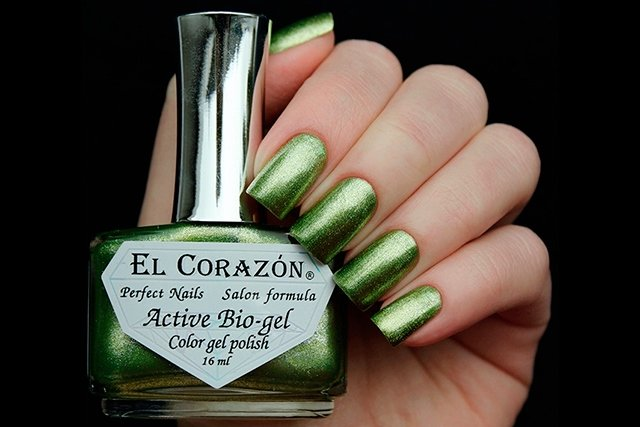 EL Corazon Active Bio-gel Color gel polish French Jacquard 423/907