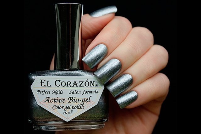 EL Corazon Active Bio-gel Color gel polish French Jacquard 423/908