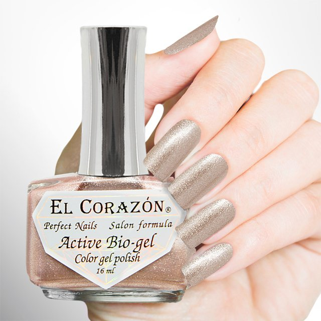 EL Corazon Active Bio-gel Color gel polish French Jacquard 423/903