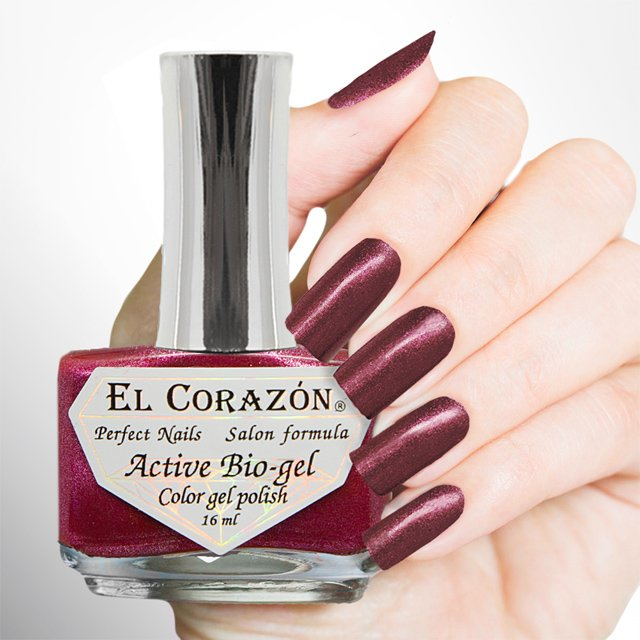 EL Corazon Active Bio-gel Color gel polish French Jacquard 423/906
