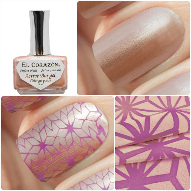 EL Corazon Active Bio-gel Color gel polish Japanese silk 423/931