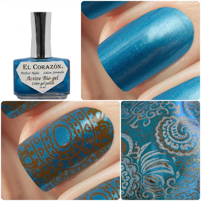 EL Corazon Active Bio-gel Color gel polish Japanese silk 423/940