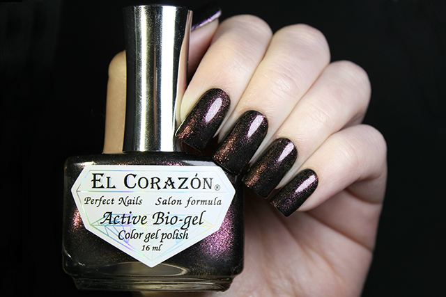 EL Corazon Active Bio-gel Color gel polish American Lurex 423/993