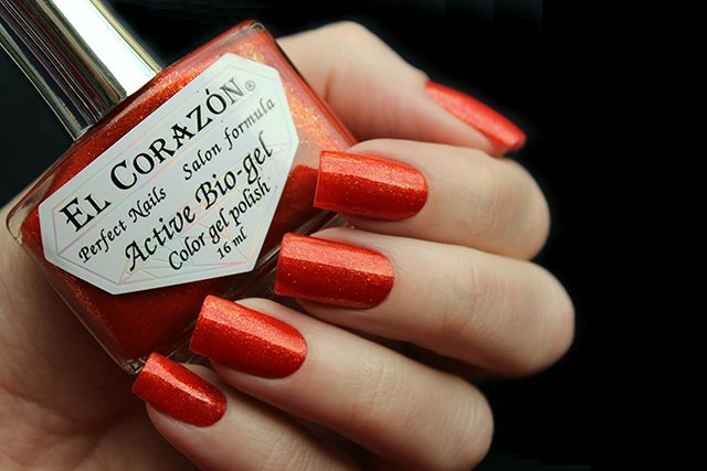 EL Corazon Active Bio-gel Color gel polish Russian Brocade 423/971
