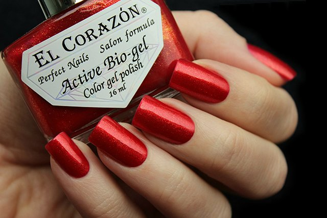 EL Corazon Active Bio-gel Color gel polish Russian Brocade 423/972
