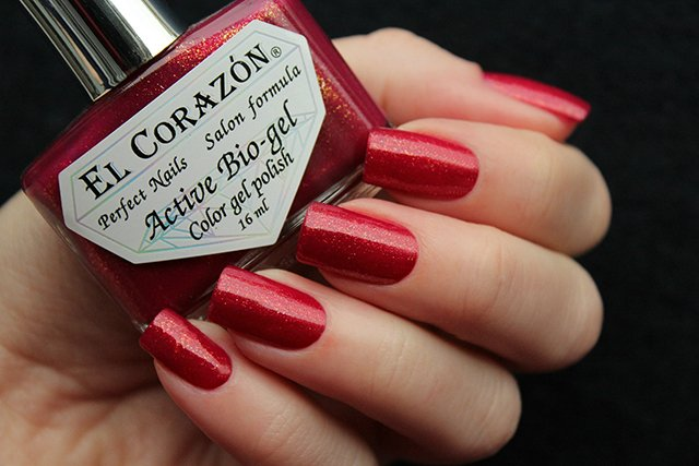 EL Corazon Active Bio-gel Color gel polish Russian Brocade 423/973