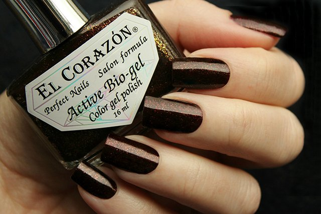 EL Corazon Active Bio-gel Color gel polish Russian Brocade 423/976