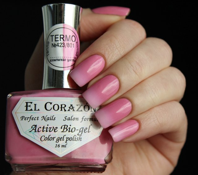 EL Corazon Active Bio-gel Color gel polish Termo 423/801