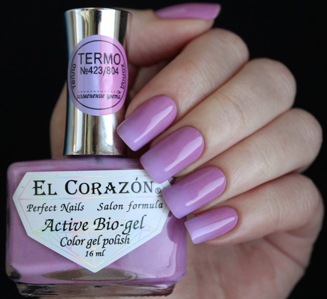 EL Corazon Active Bio-gel Color gel polish Termo 423/804