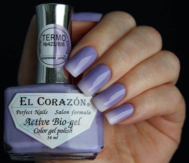 EL Corazon Active Bio-gel Color gel polish Termo 423/806