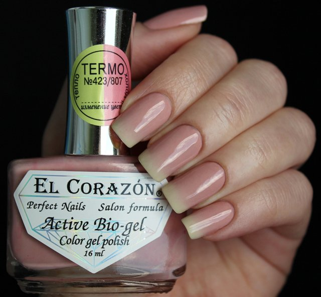 EL Corazon Active Bio-gel Color gel polish Termo 423/807
