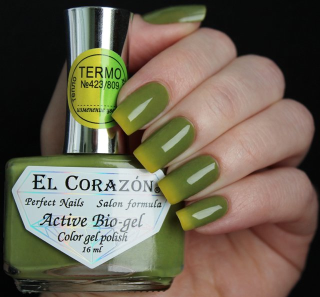 EL Corazon Active Bio-gel Color gel polish Termo 423/809