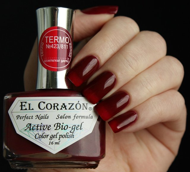 EL Corazon Active Bio-gel Color gel polish Termo 423/811