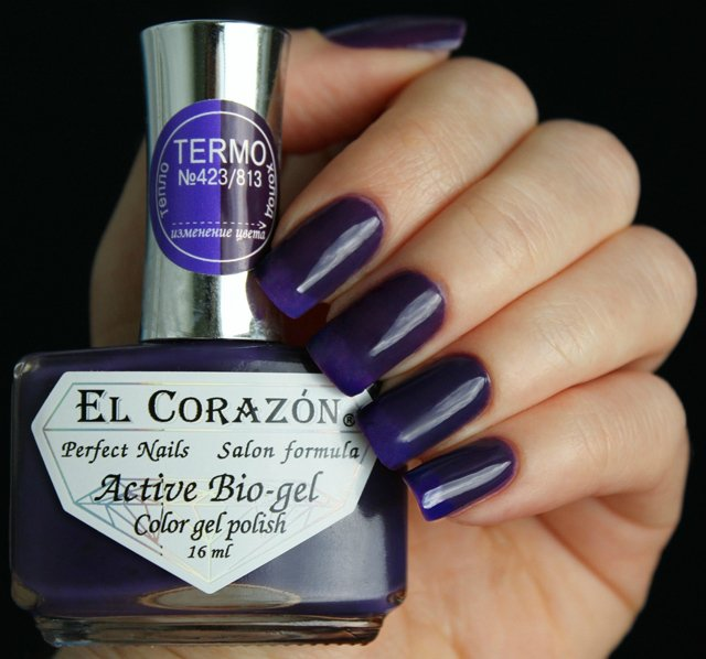 EL Corazon Active Bio-gel Color gel polish Termo 423/813