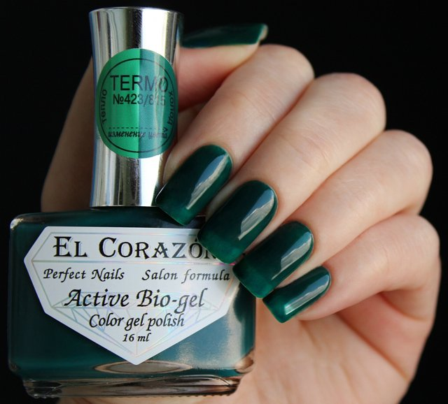 EL Corazon Active Bio-gel Color gel polish Termo 423/815