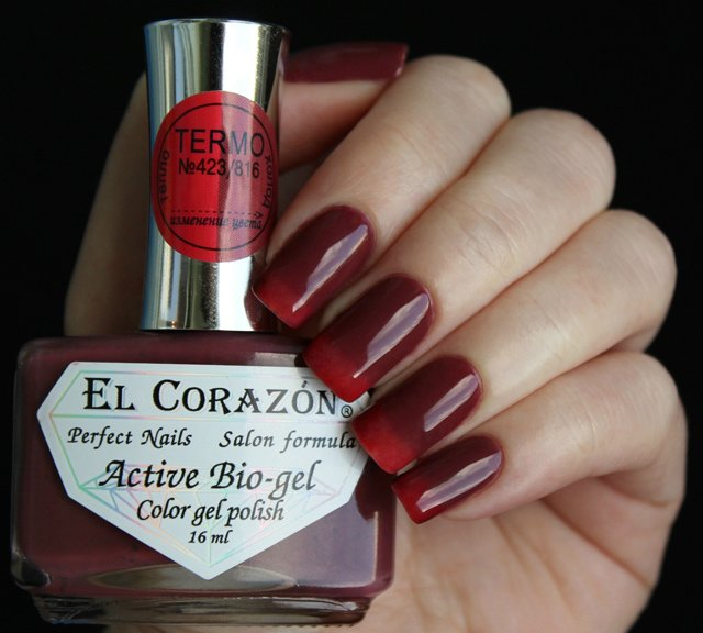 EL Corazon Active Bio-gel Color gel polish Termo 423/816