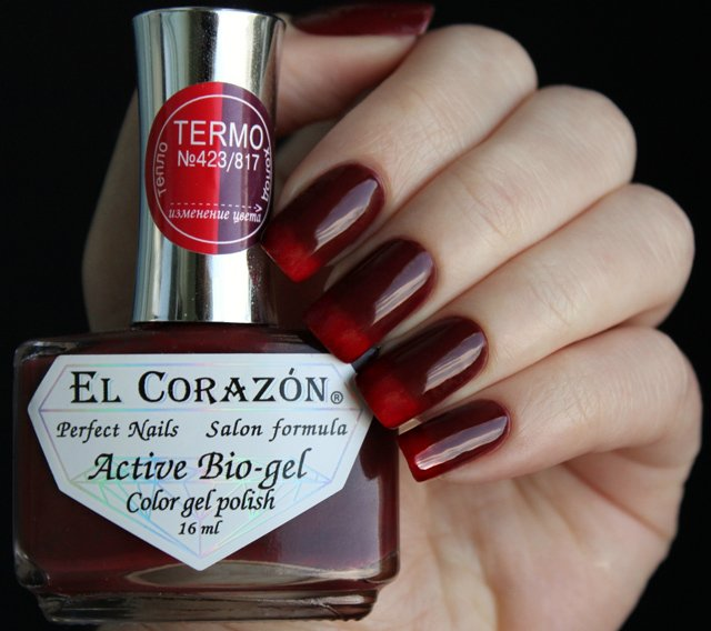 EL Corazon Active Bio-gel Color gel polish Termo 423/817