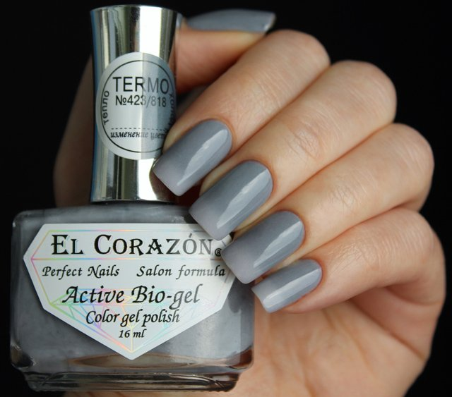 EL Corazon Active Bio-gel Color gel polish Termo 423/818