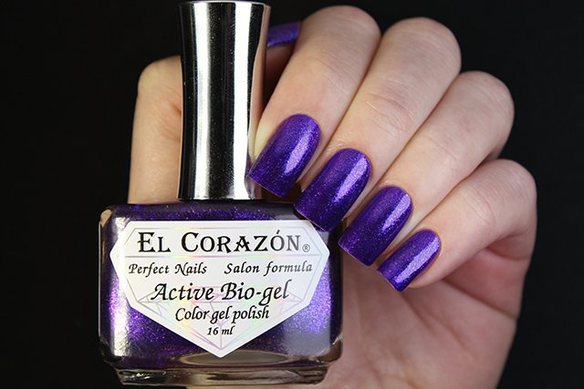 EL Corazon Active Bio-gel Color gel polish Eastern Organza 423/951