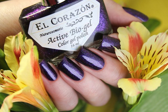 EL Corazon Active Bio-gel Color gel polish Eastern Organza 423/952