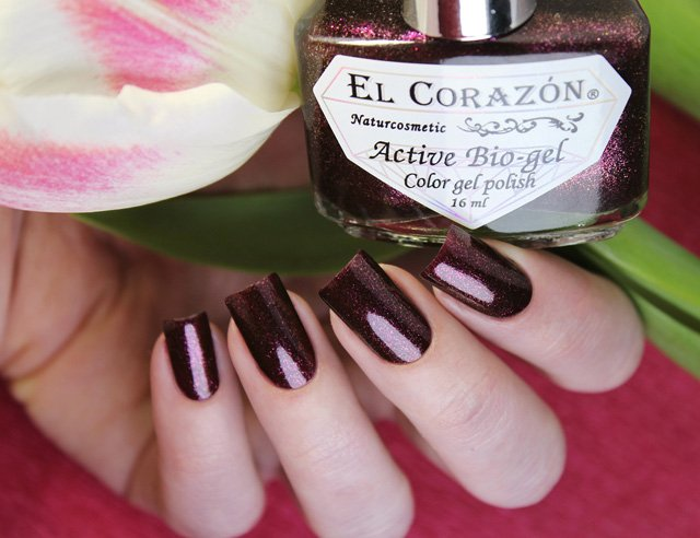 EL Corazon Active Bio-gel Color gel polish Eastern Organza 423/953