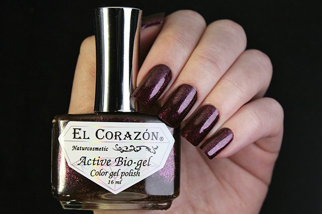 EL Corazon Active Bio-gel Color gel polish Eastern Organza 423/954