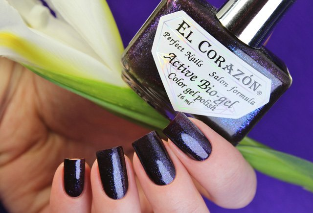 EL Corazon Active Bio-gel Color gel polish Eastern Organza 423/955